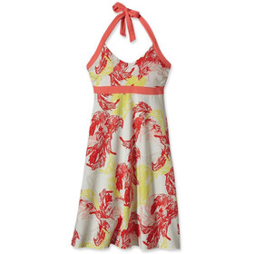 Patagonia W's Iliana Halter Dress Palm Spring Dress: Catalan Coral (896)